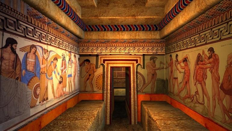 gli affreschi francois